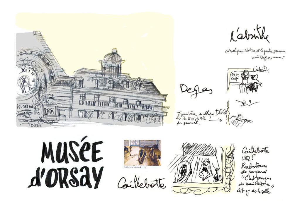 Reportage – Musée d'Orsay – Jean-Claire Lacroix
