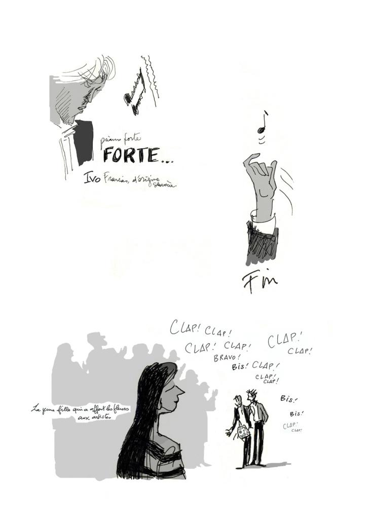 Reportage – récital de piano – Jean-Claire Lacroix
