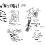 Mes petits Moleskines – expo AmyWinehouse – Jean-Claire Lacroix