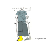 Mes petits Moleskines – Pied cassé – Jean-Claire Lacroix