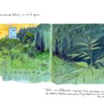 Mes petits Moleskines – Coucher soleil Hornberg – Jean-Claire Lacroix