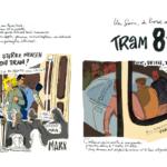 Mes petits Moleskines – Un jour à bord du tram 81… – Jean-Claire Lacroix