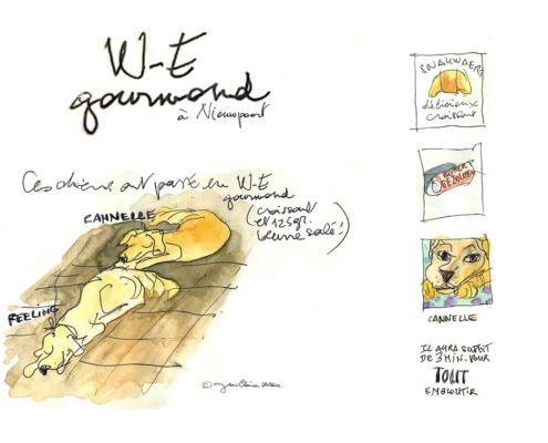 Mes petits Moleskines – WE gastronomique à Nieuwpoort – Jean-Claire Lacroix