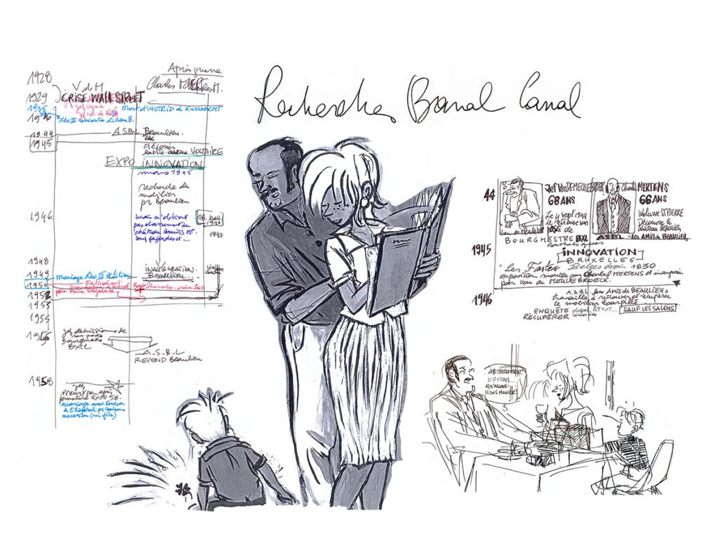 Recherches graphiques – Banal Canal – Jean-Claire Lacroix