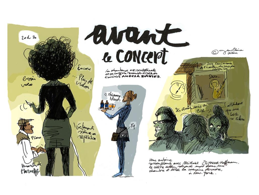 Reportage – Loumen en concert – Jean-Claire Lacroix