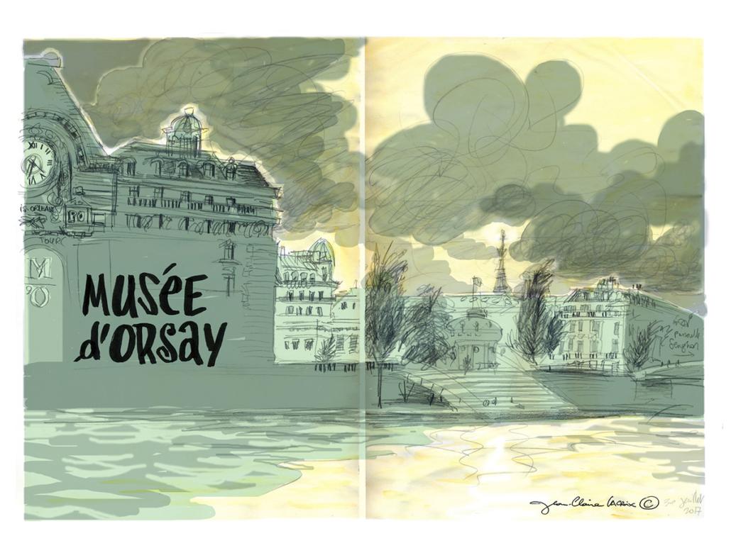 Reportage – Musée d'Orsay Paris – Jean-Claire Lacroix