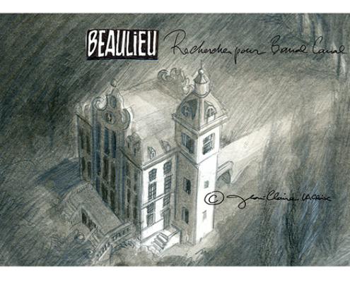 Roman graphique Banal Canal, le kasteel Beaulieu – Jean-Claire Lacroix