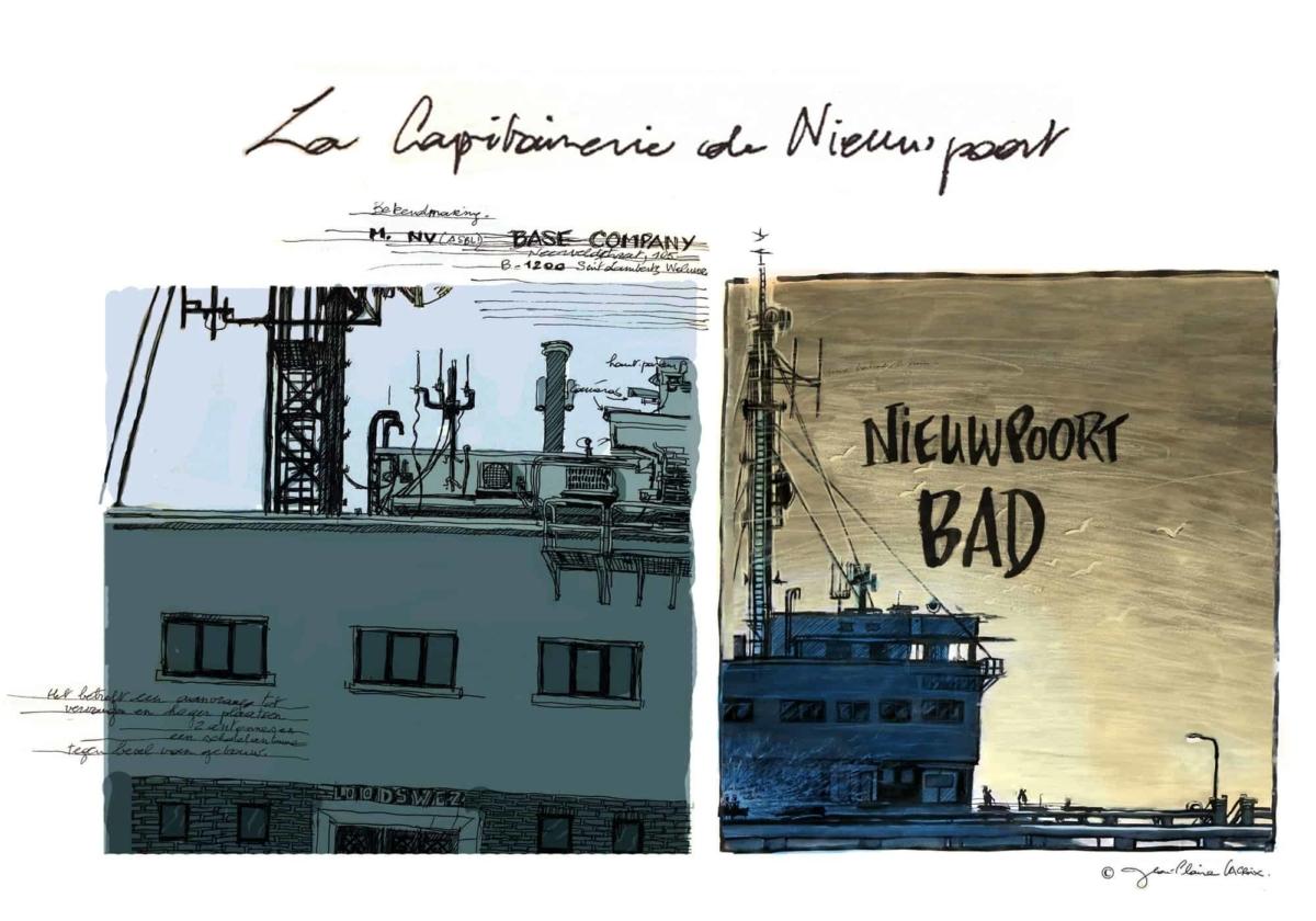 Capitainerie de Nieuwpoort – Jean-Claire Lacroix