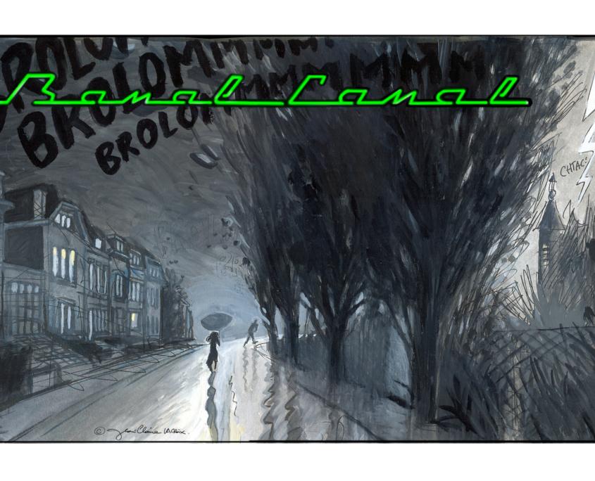 Roman graphique Banal Canal – Jean-Claire Lacroix