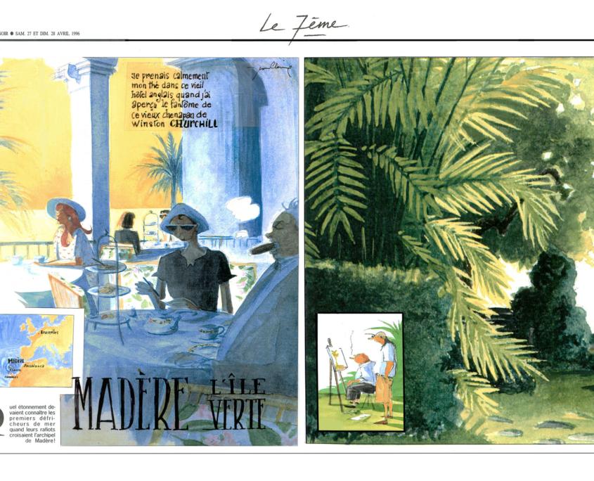 Le 7e Soir – article illustré par Jean-Claire Lacroix