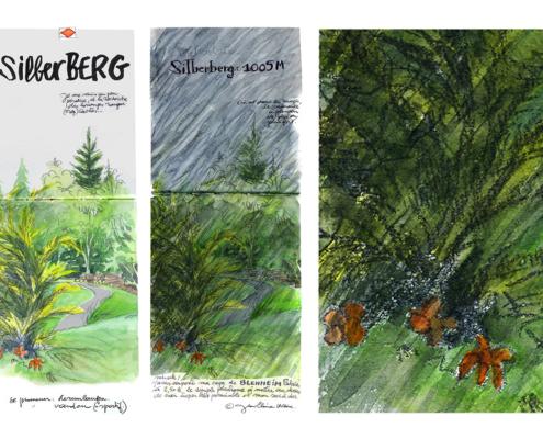Mes petits Moleskines – Silberberg 1005 mètres – Jean-Claire Lacroix