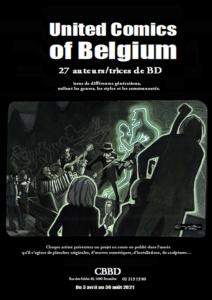 Jean-Claire Lacroix expose au Musée de la Bande dessinée – United Comics of Belgium